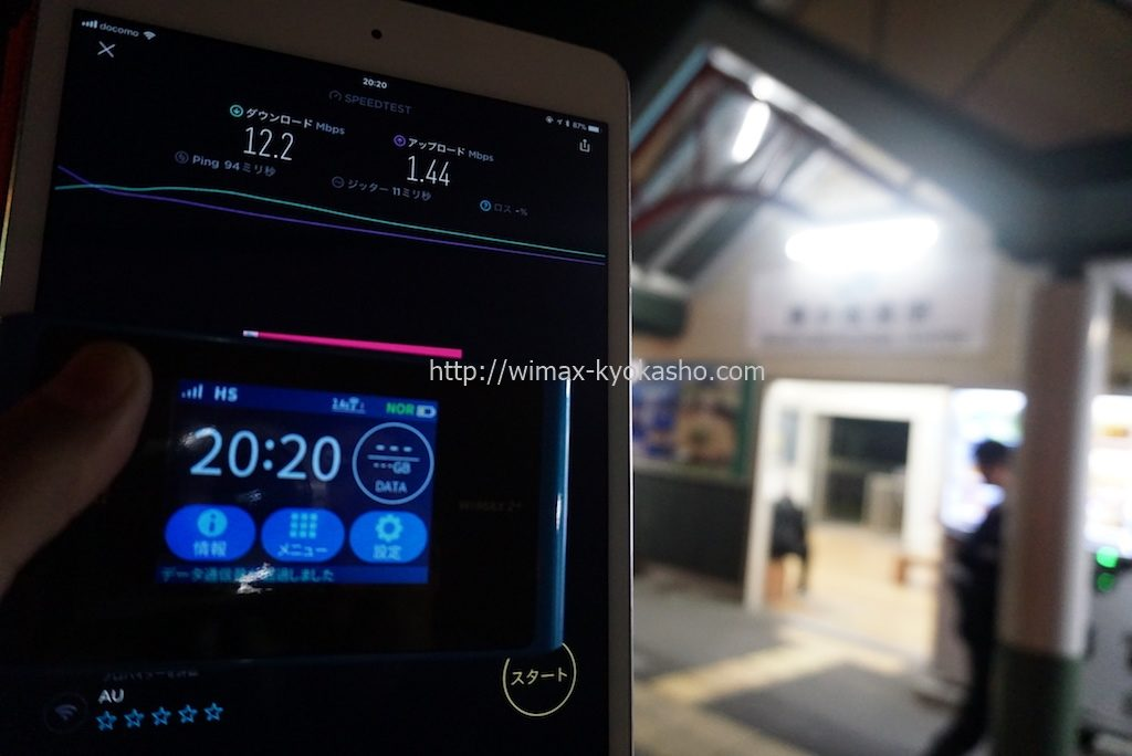 徳島県小松島市南小松島駅で計測(WX04)