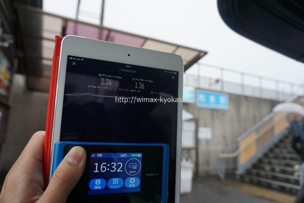 高知県安芸郡芸西村和食駅で計測(WX04)