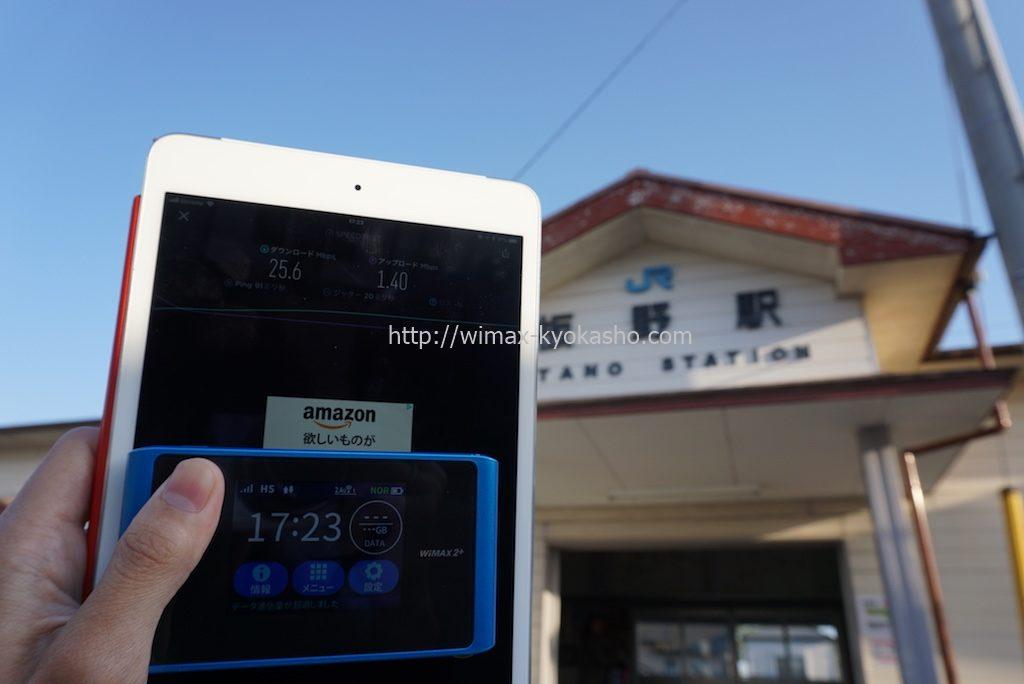 徳島県板野郡板野町板野駅で計測(WX04)